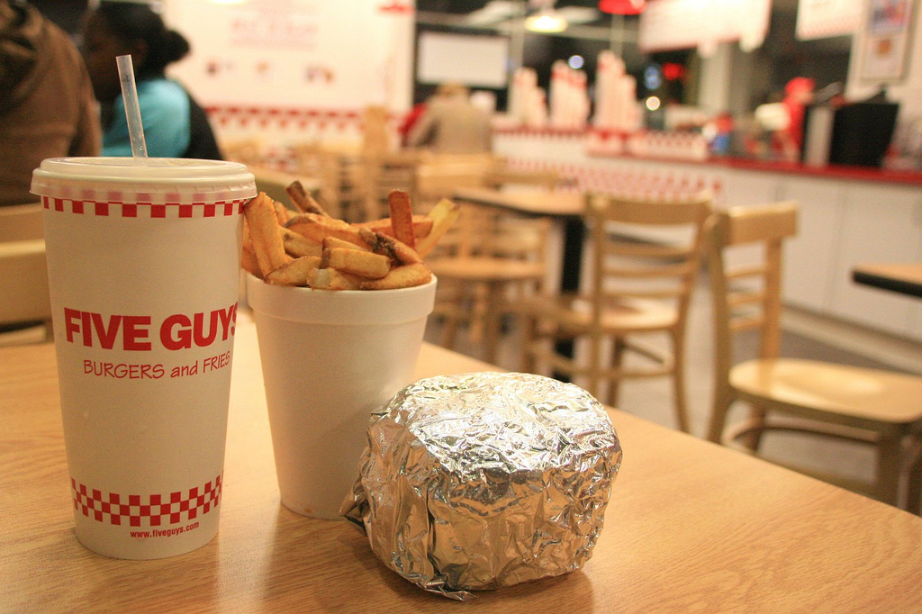 Associated Press: Five Guys, Shake Shack Creating Stiff Competition