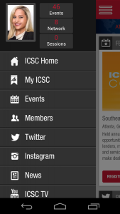 ICSC Mobile App for RECon 2016