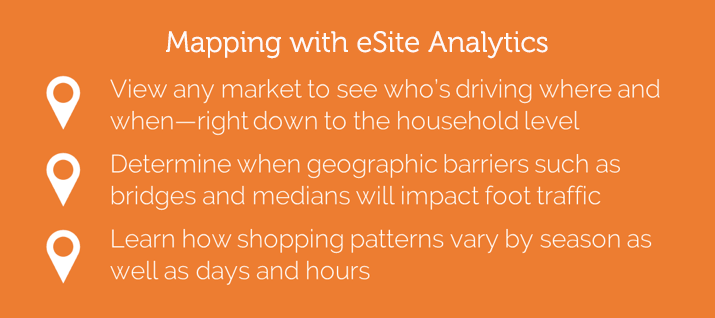 The benefits of eSite Analytics mapping technology