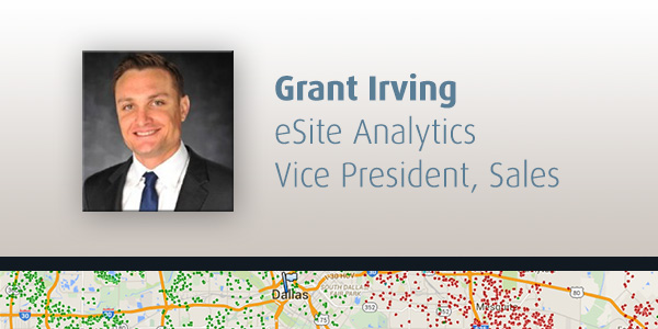 Grant Irving Joins eSite Analytics as Vice President of Sales